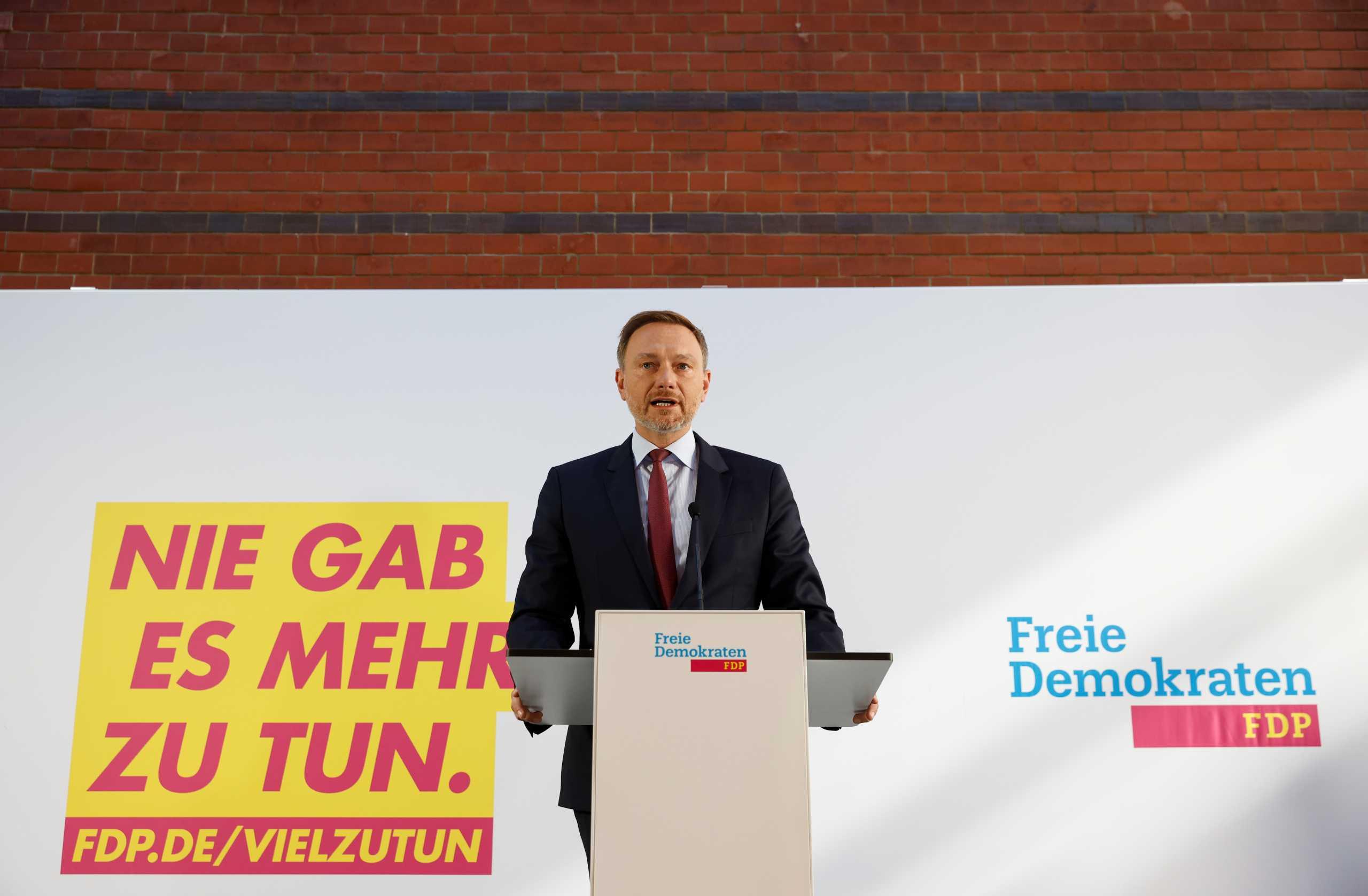 Γερμανία: Οι Φιλελεύθεροι αποδέχτηκαν την πρόσκληση και ξεκινούν διαπραγματεύσεις για συγκυβέρνηση με το SPD