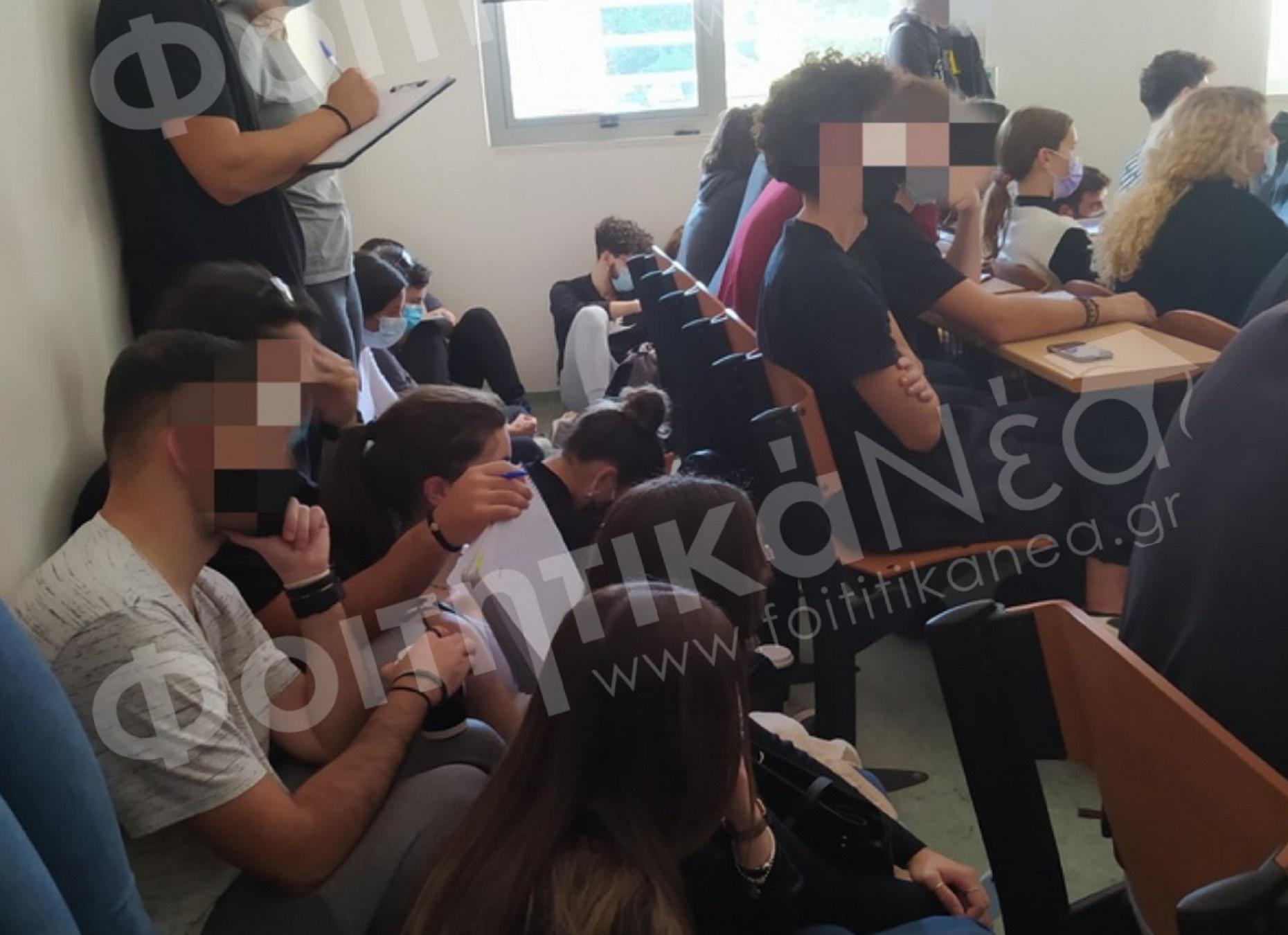 Κορονοϊός – Πανεπιστήμιο Ιωαννίνων: Απίστευτο συνωστισμό σε μάθημα καταγγέλλουν φοιτητές