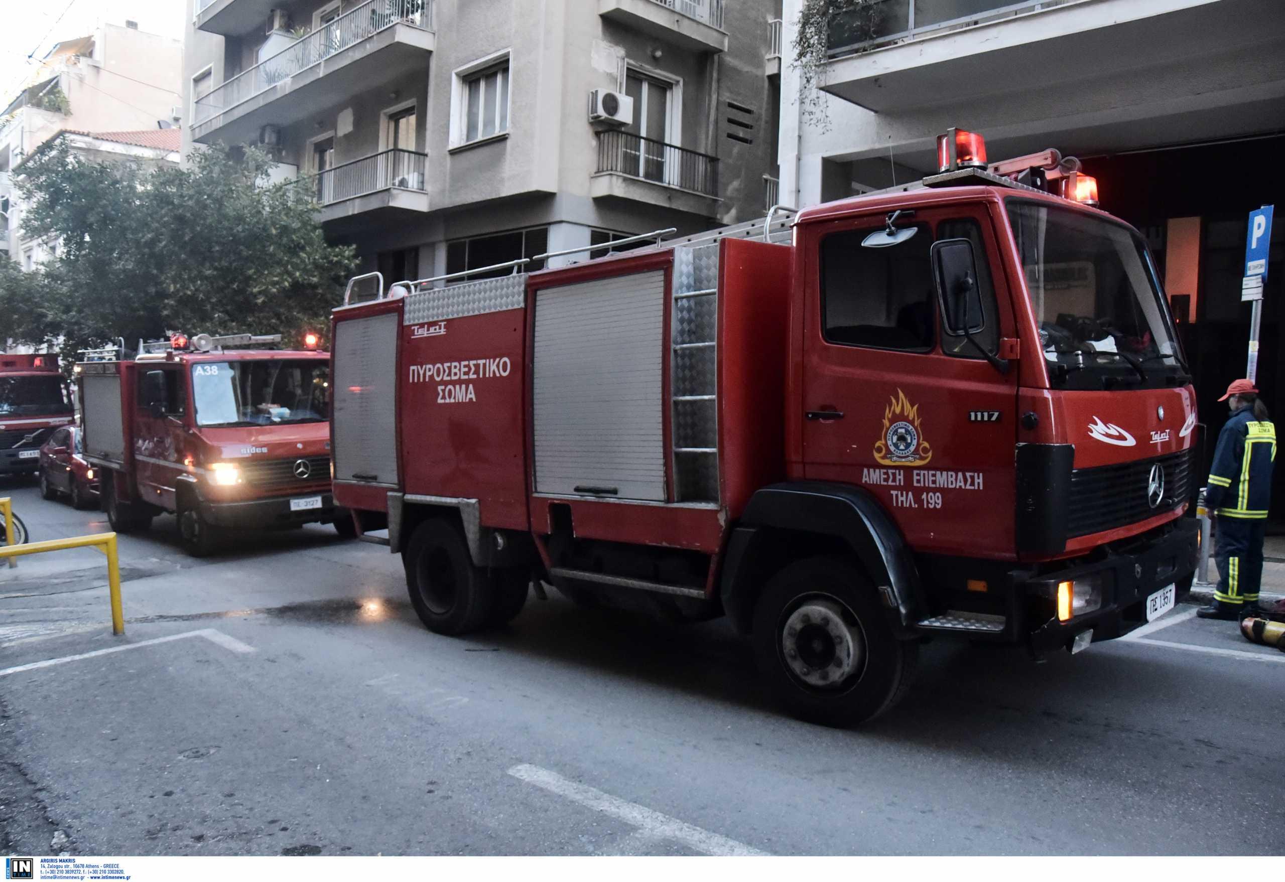 Φωτιά σε εστιατόριο στο Παλαιό Φάληρο