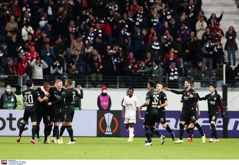 Europa League, Αιντραχτ Φρανκφούρτης - Ολυμπιακός 3-1: Έχασε το ματς και την πρώτη θέση η ομάδα του Πέδρο Μαρτίνς