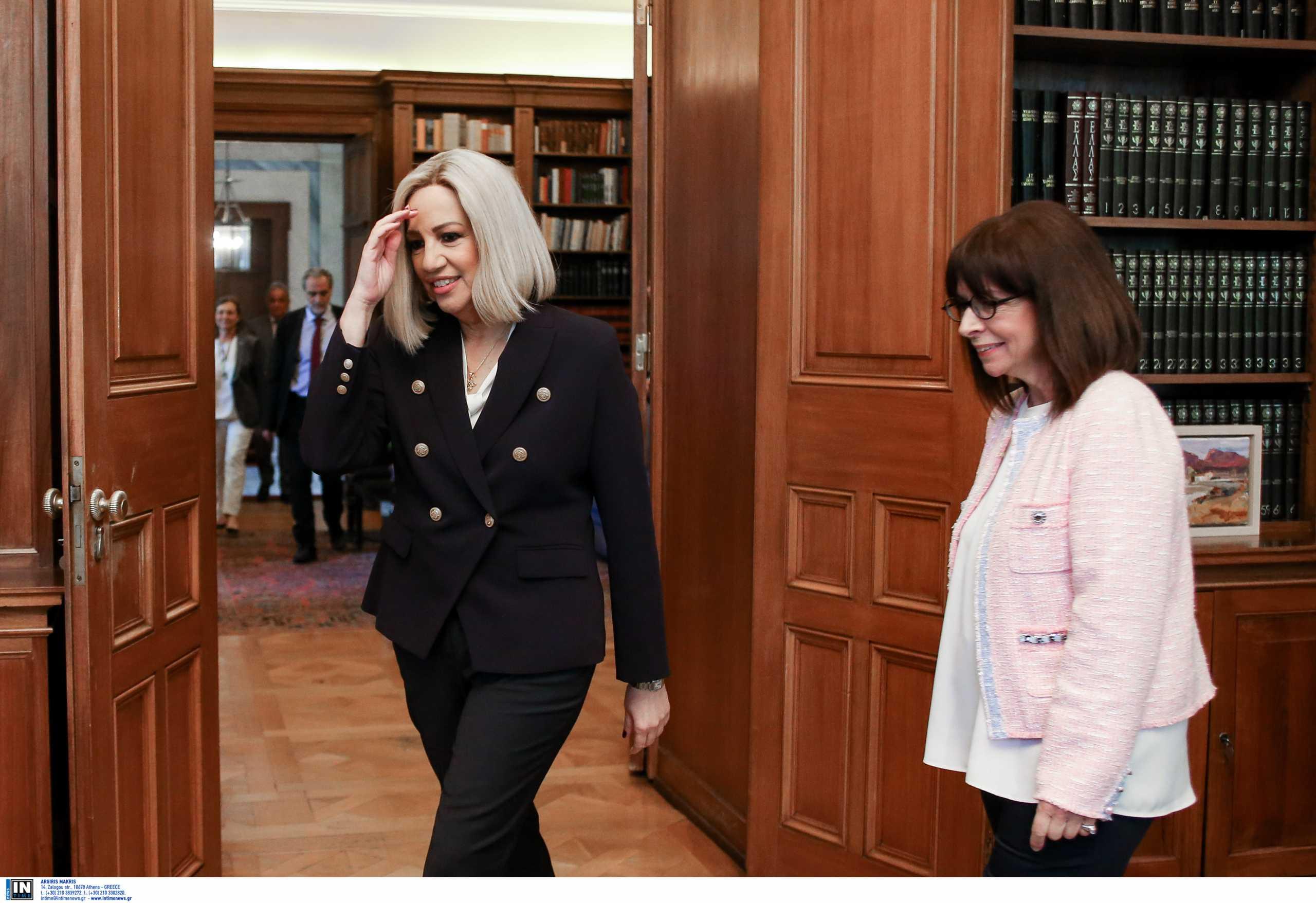 Κατερίνα Σακελλαροπούλου για Φώφη Γεννηματά: Είναι μαχήτρια και το έχει αποδείξει