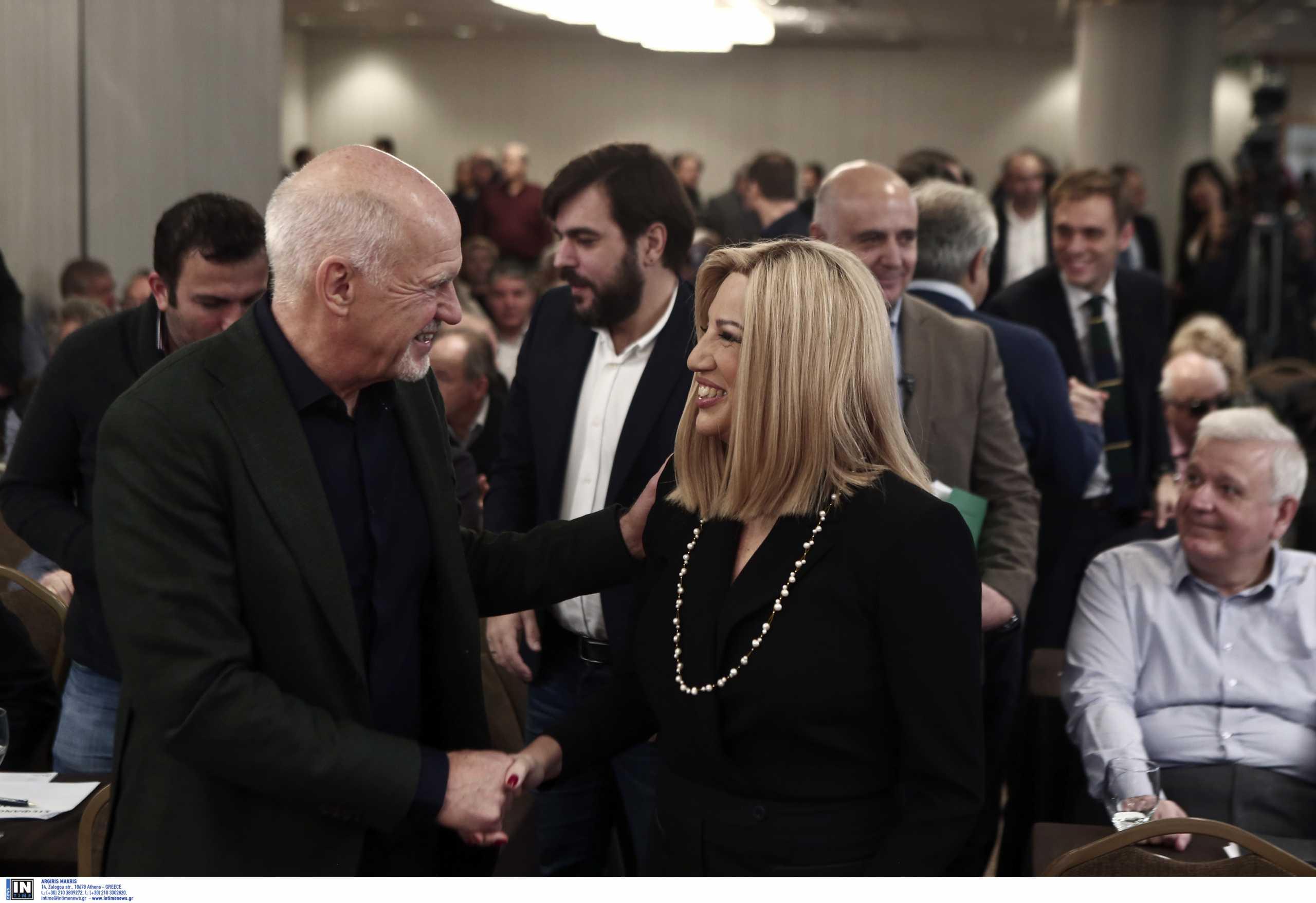 Φώφη Γεννηματά: Την επισκέφθηκε στο νοσοκομείο ο Γιώργος Παπανδρέου