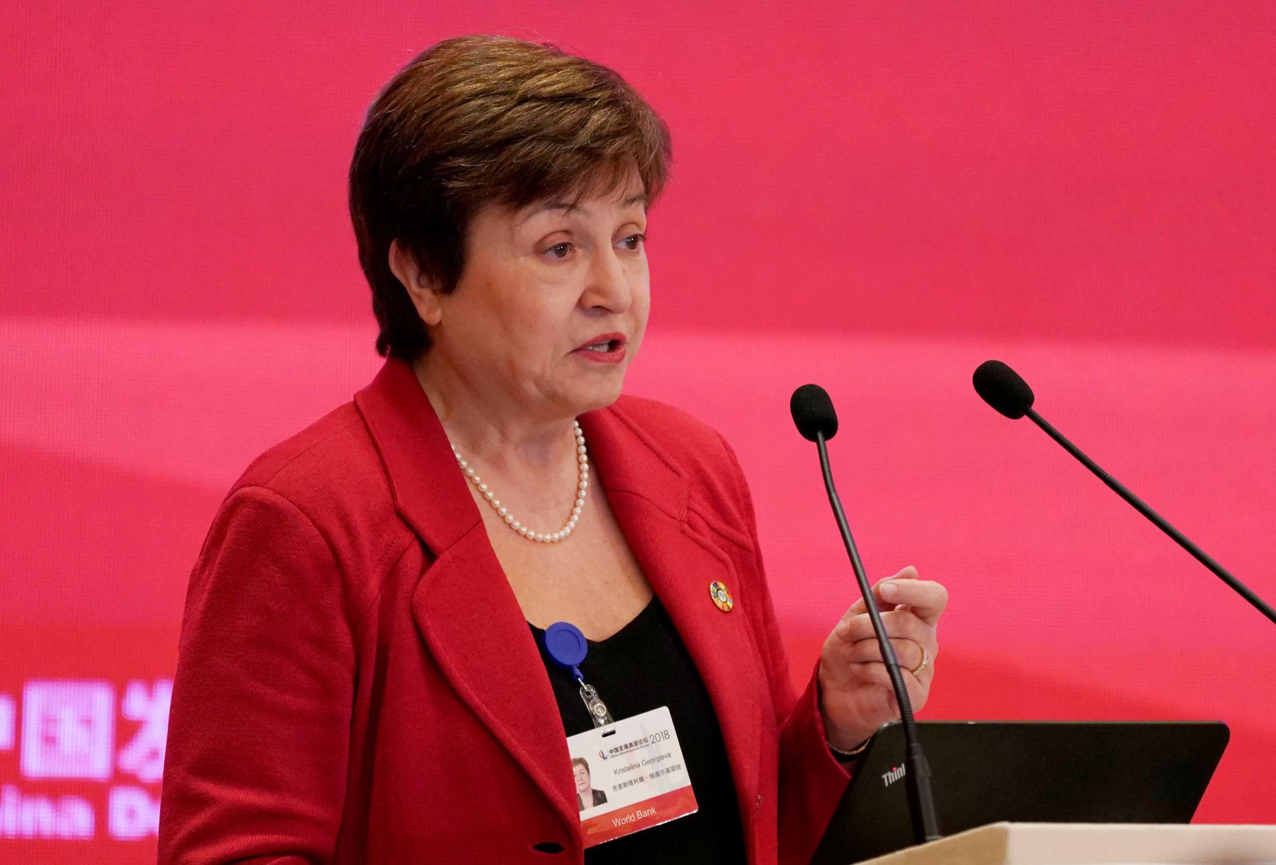 ΔΝΤ – Γκεοργκίεβα: Πρέπει να στηρίξουμε τις ευάλωτες χώρες