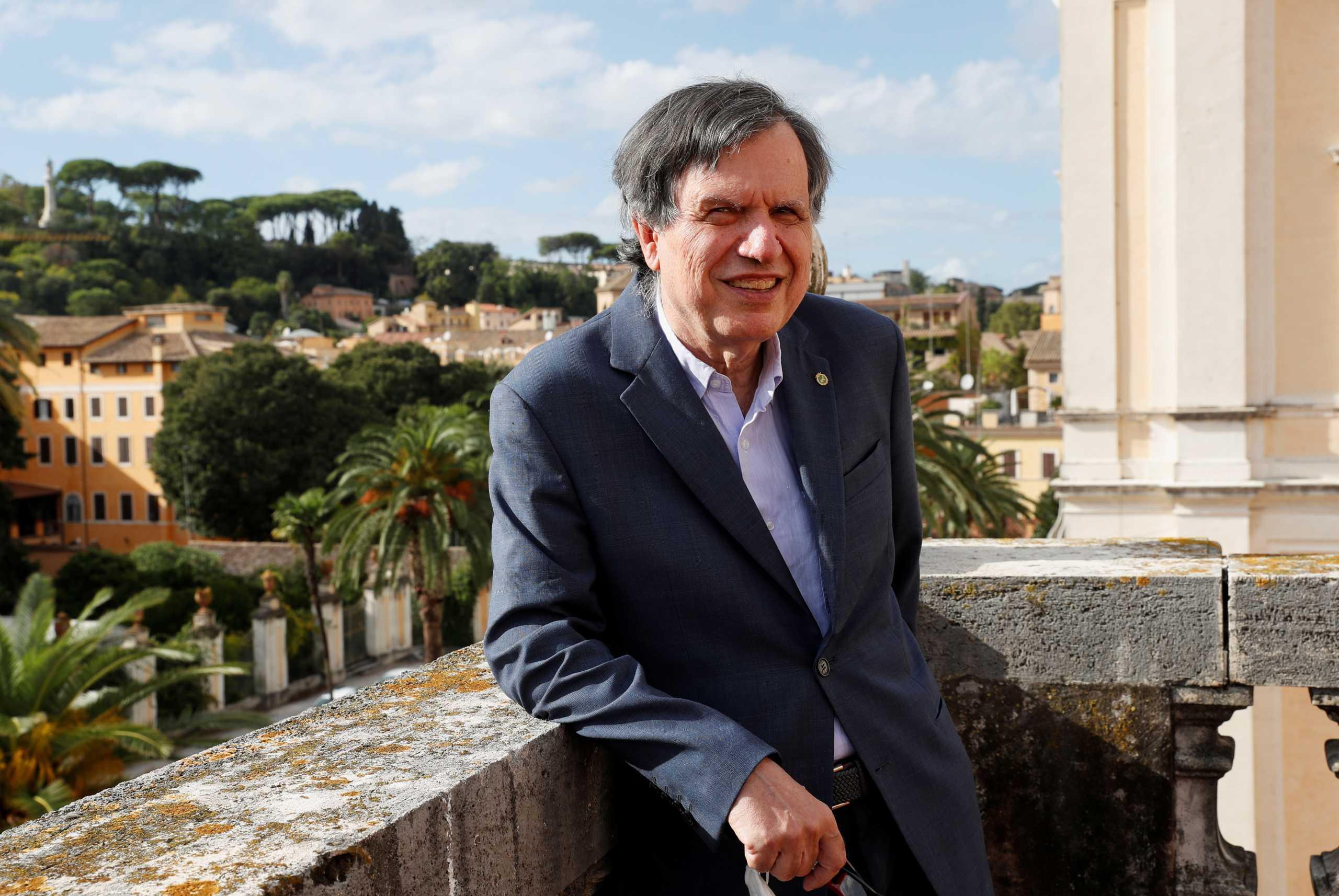 Τζόρτζιο Παρίζι: Με ελληνική μουσική χαλαρώνει ο Ιταλός φυσικός που βραβεύτηκε με Νόμπελ