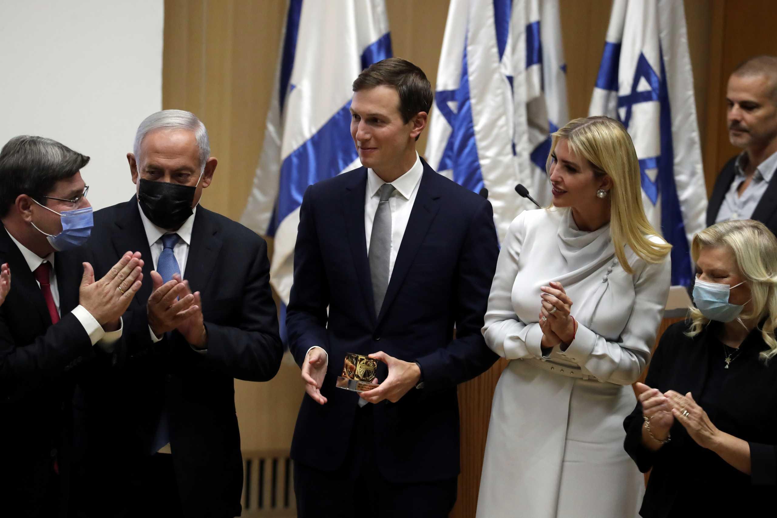 Τζάρεντ Κούσνερ και Ιβάνκα Τραμπ στο Ισραήλ για την ίδρυση λόμπι επιρροής
