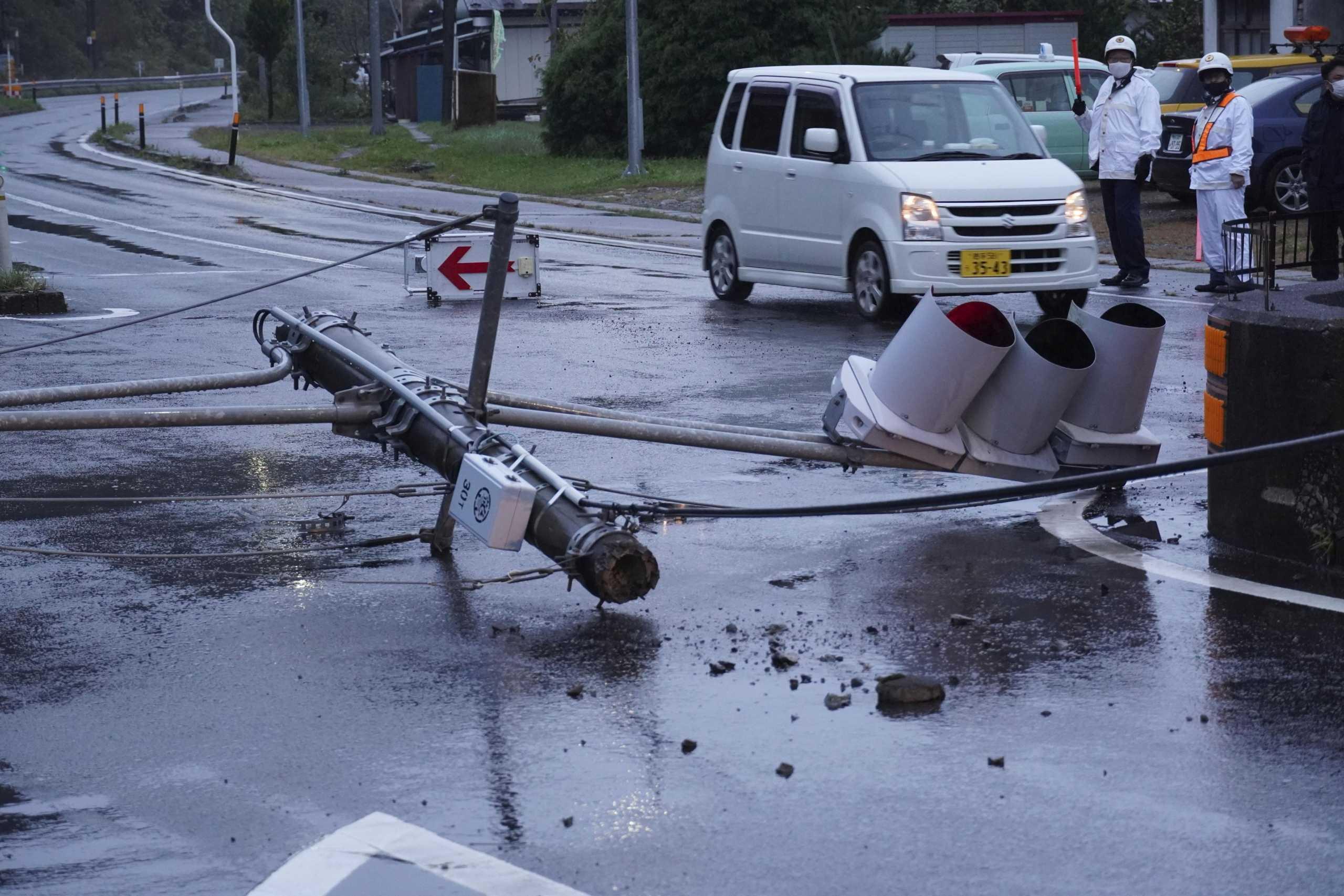Σεισμός 5,9 Ρίχτερ στην Ιαπωνία με δυο τραυματίες