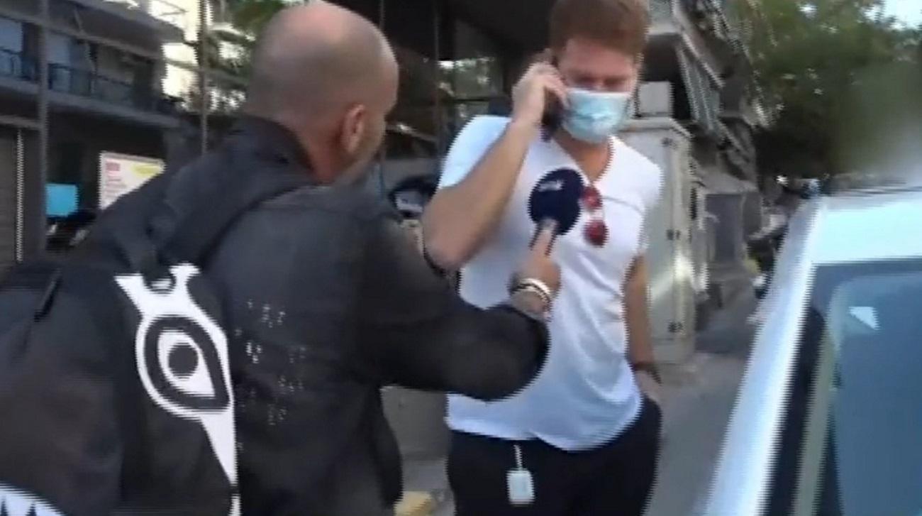 Τζέιμς Καφετζής: Η on camera αντίδραση για το εξώδικο του Ατζούν