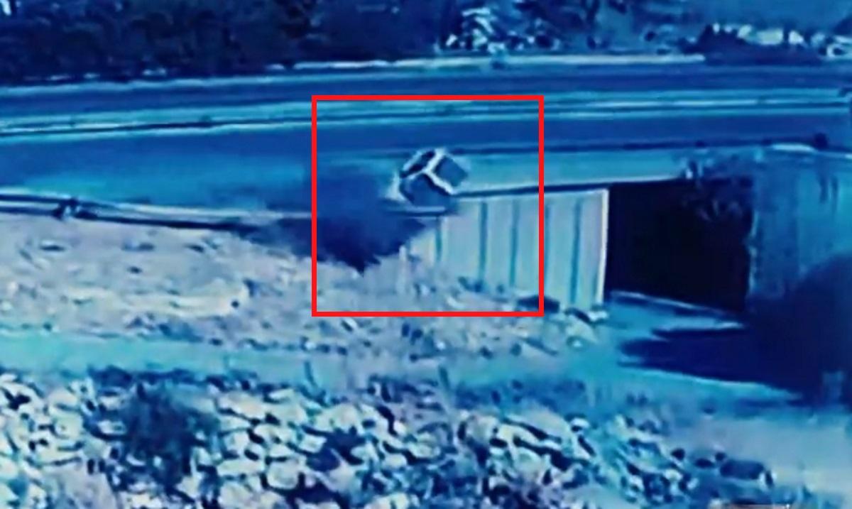Τροχαίο στην Κρήτη: Μάλλον πέθανε στο τιμόνι και μετά έκανε «βουτιά» το αυτοκίνητο