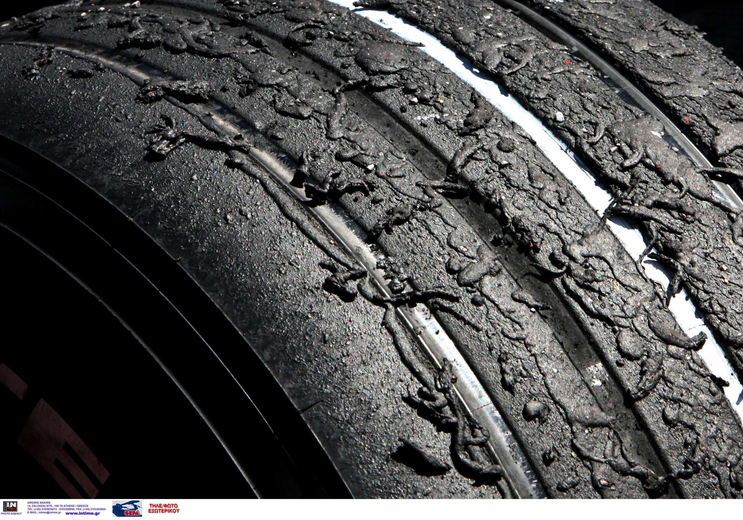 Βόλος: Δεκάδες αυτοκίνητα βρέθηκαν με σκισμένα λάστιχα