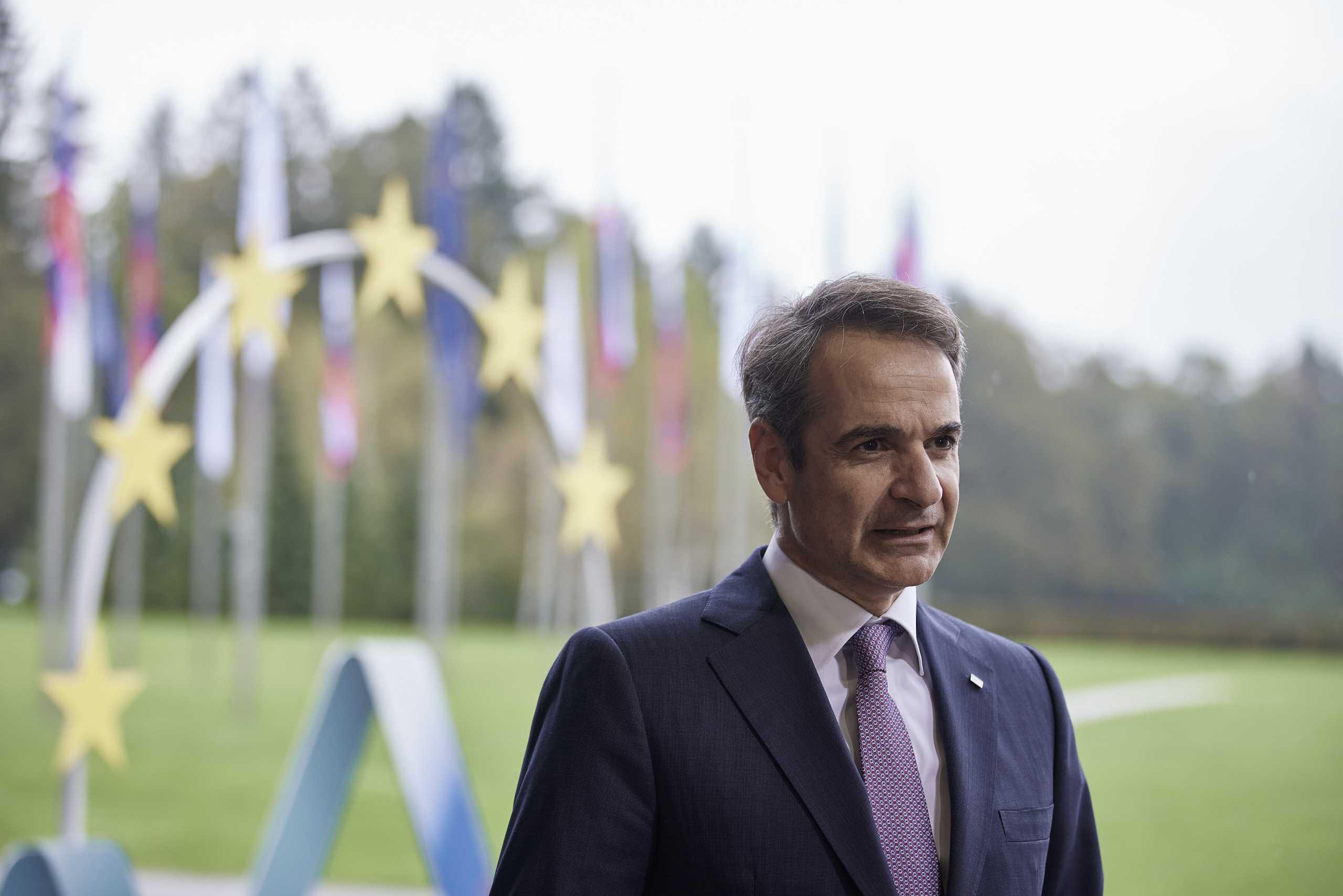 Μητσοτάκης κατά ΣΥΡΙΖΑ από την Σύνοδο Κορυφής: Κάποιοι δεν μπορούν να δουν πέρα από τις κομματικές παρωπίδες