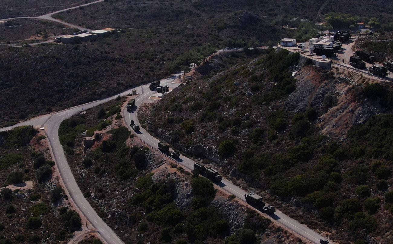 MNTF – 21: Αντιαεροπορικές και αντιβαλλιστικές βολές στο πεδίο βολής Κρήτης