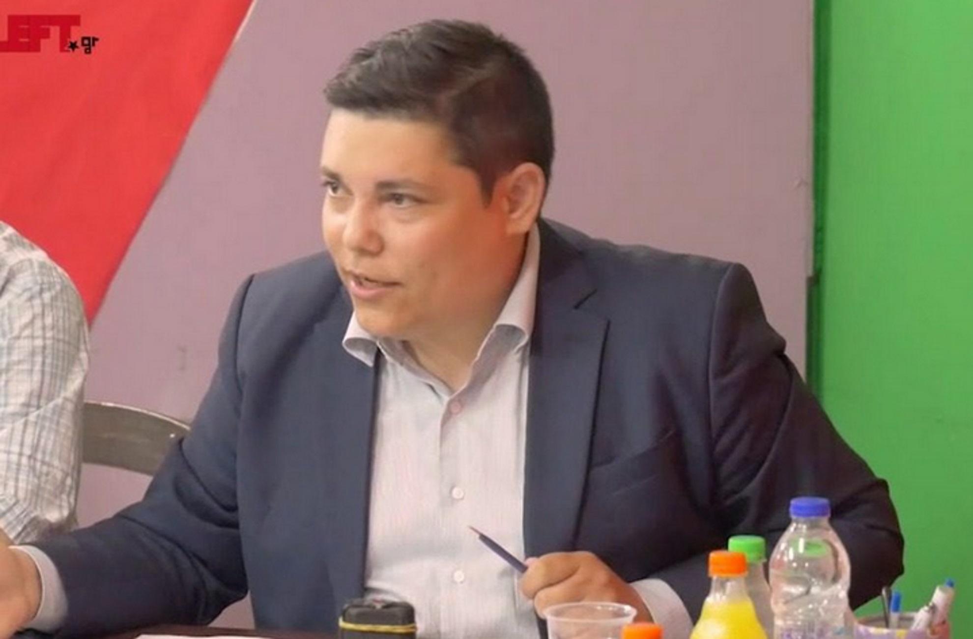 Λέσβος: Θετικός στον κορονοϊό ο  Γιάννης Μπουρνούς – Νόσησε και η σύζυγος του βουλευτή του ΣΥΡΙΖΑ
