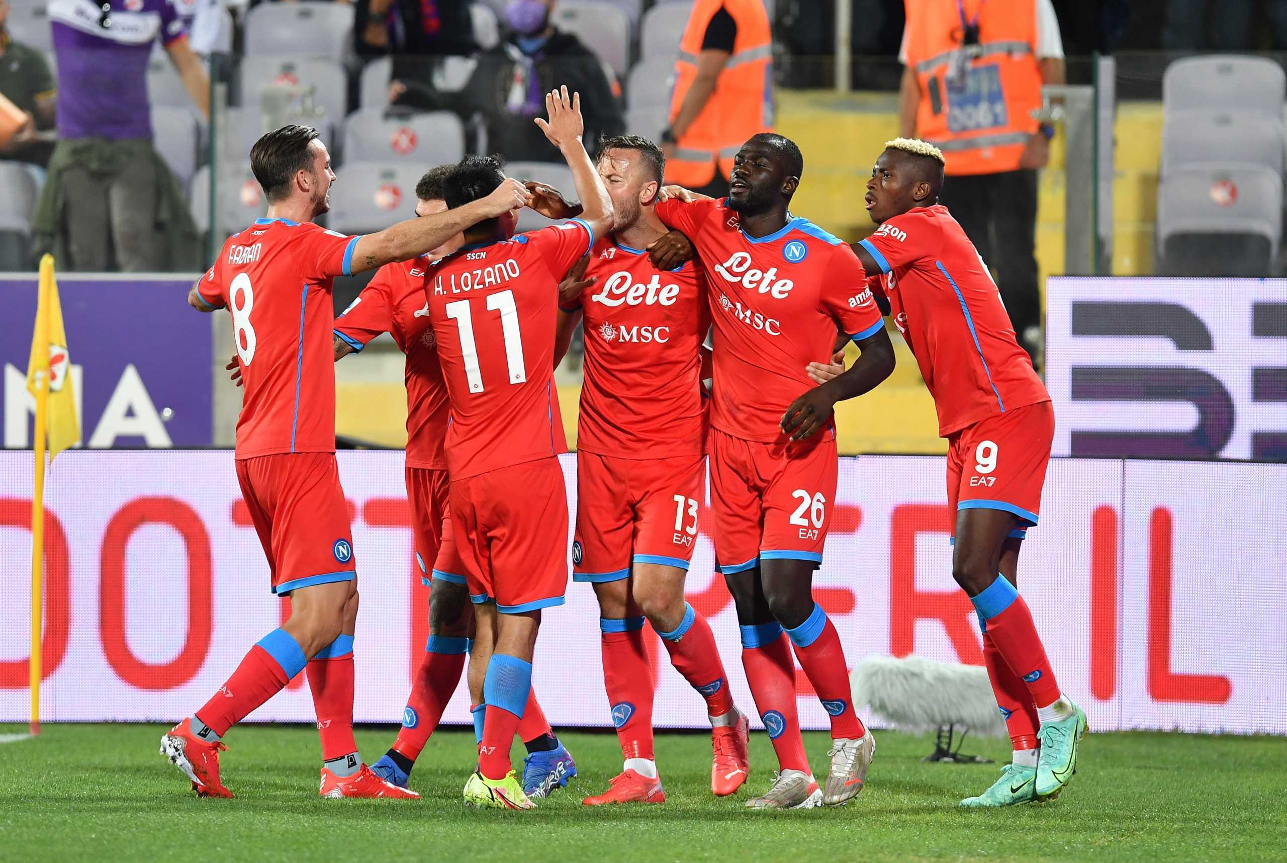 Serie A, Φιορεντίνα – Νάπολι 1-2: Ανατροπή και με το απόλυτο στην κορυφή