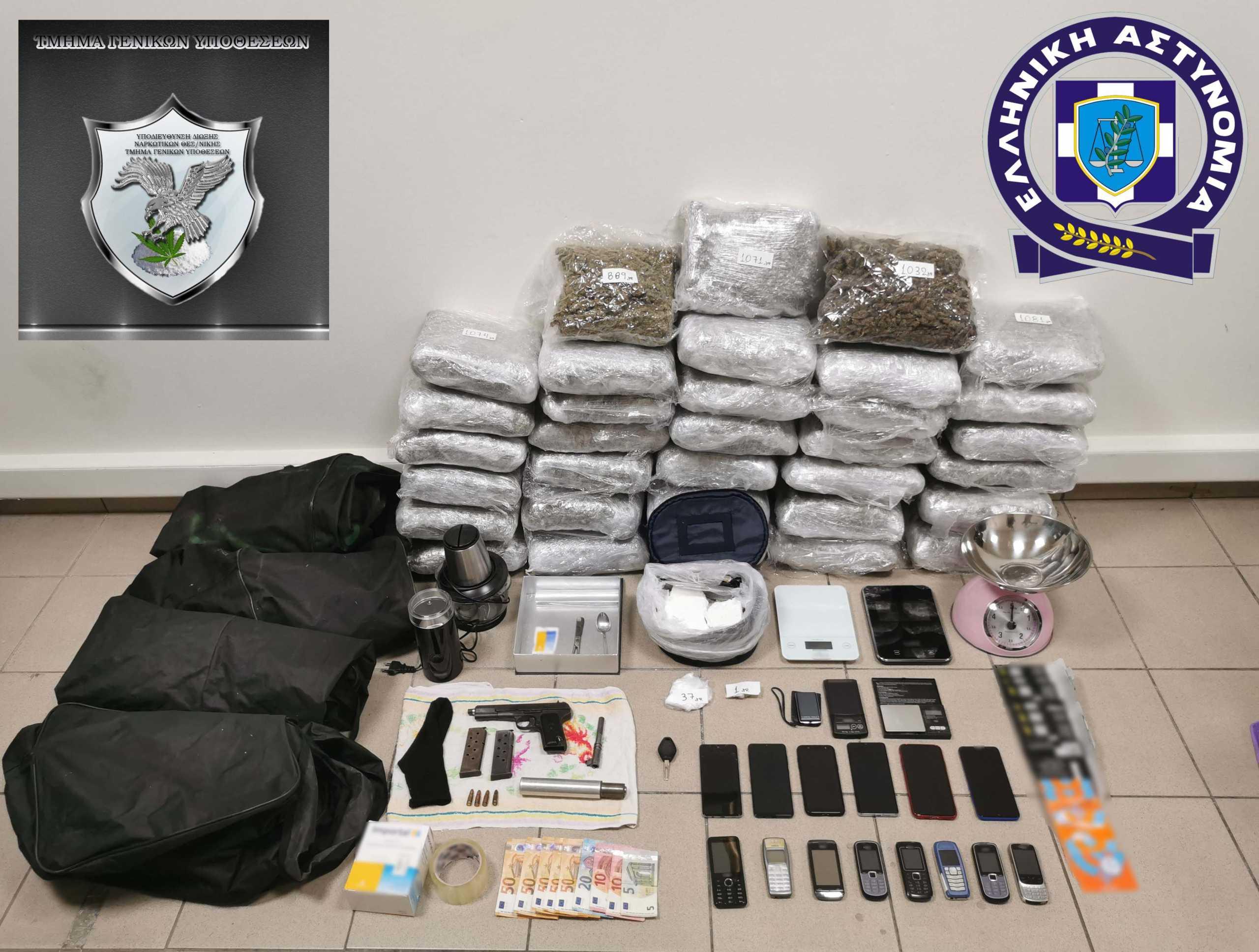 Θεσσαλονίκη: Συνελήφθη  ο «εγκέφαλος» κυκλώματος διακίνησης μεγάλων ποσοτήτων ναρκωτικών