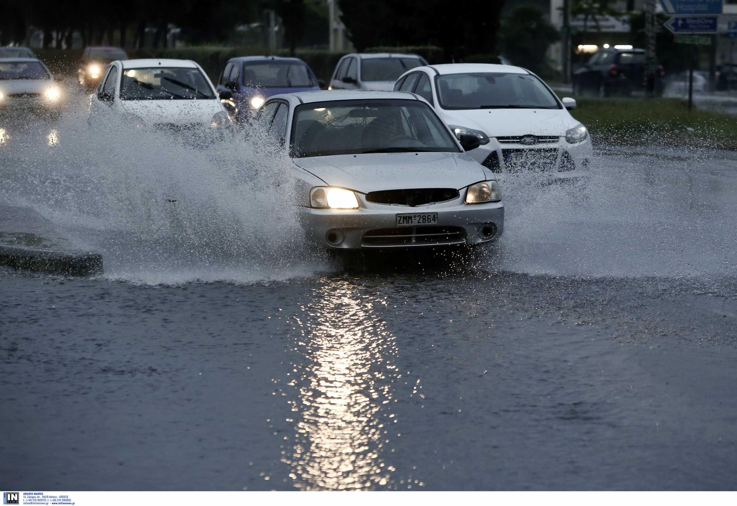 Κακοκαιρία «Μπάλλος»: Τι πρέπει να προσέχουν οι οδηγοί στα ακραία καιρικά φαινόμενα