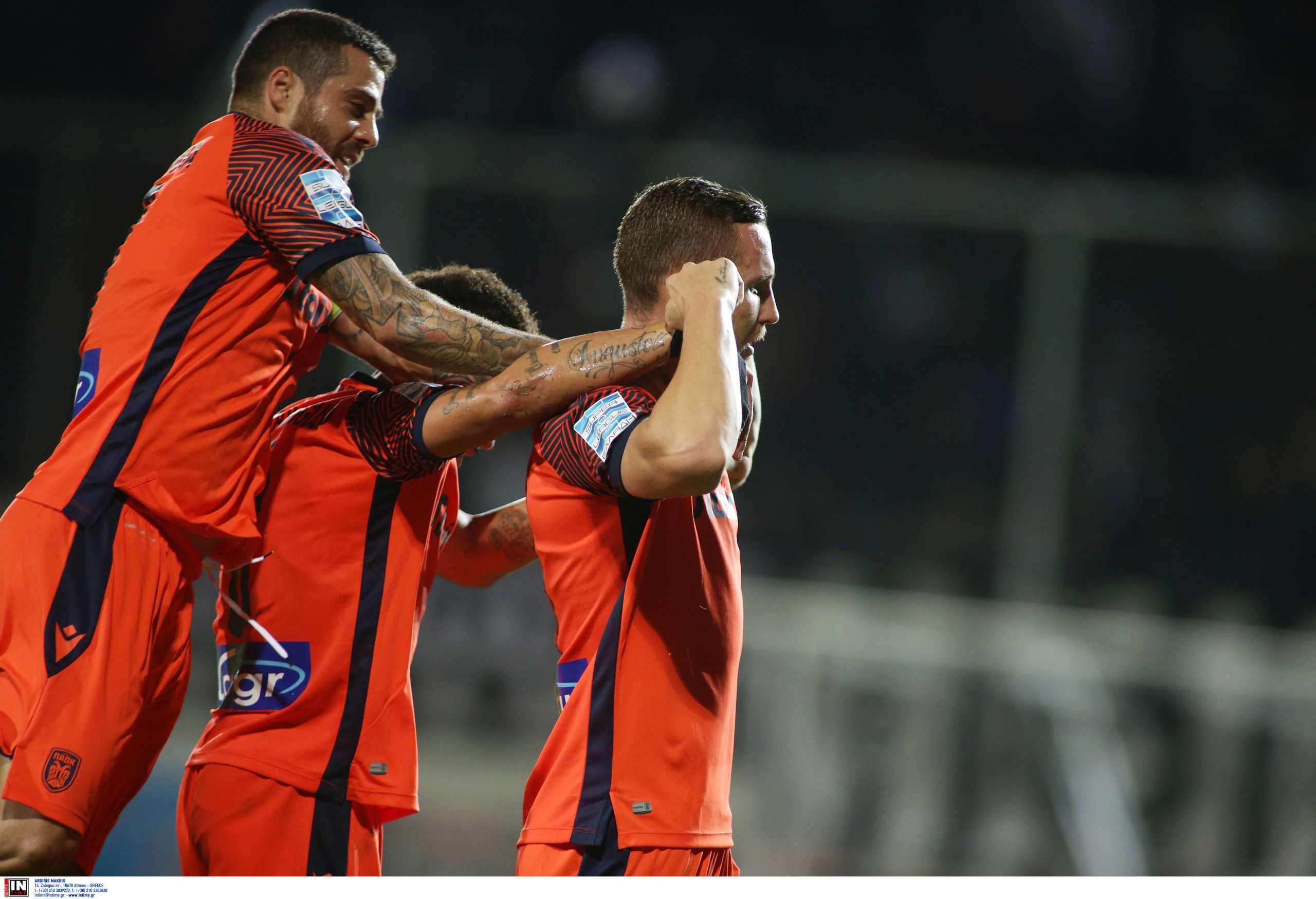 Superleague 1, ΟΦΗ – ΠΑΟΚ 1-3: Άνετο πέρασμα από το Ηράκλειο