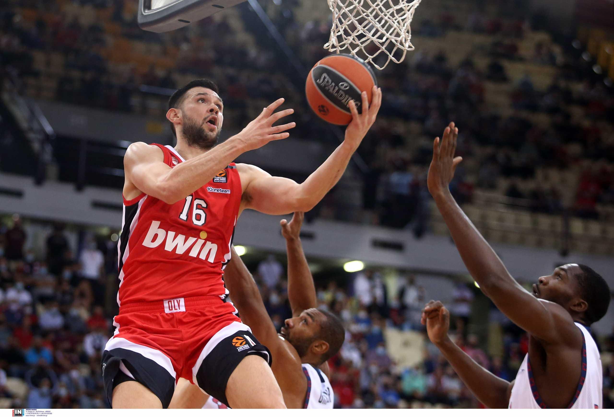 Ολυμπιακός – Μπασκόνια LIVE για την πρώτη αγωνιστική της Euroleague