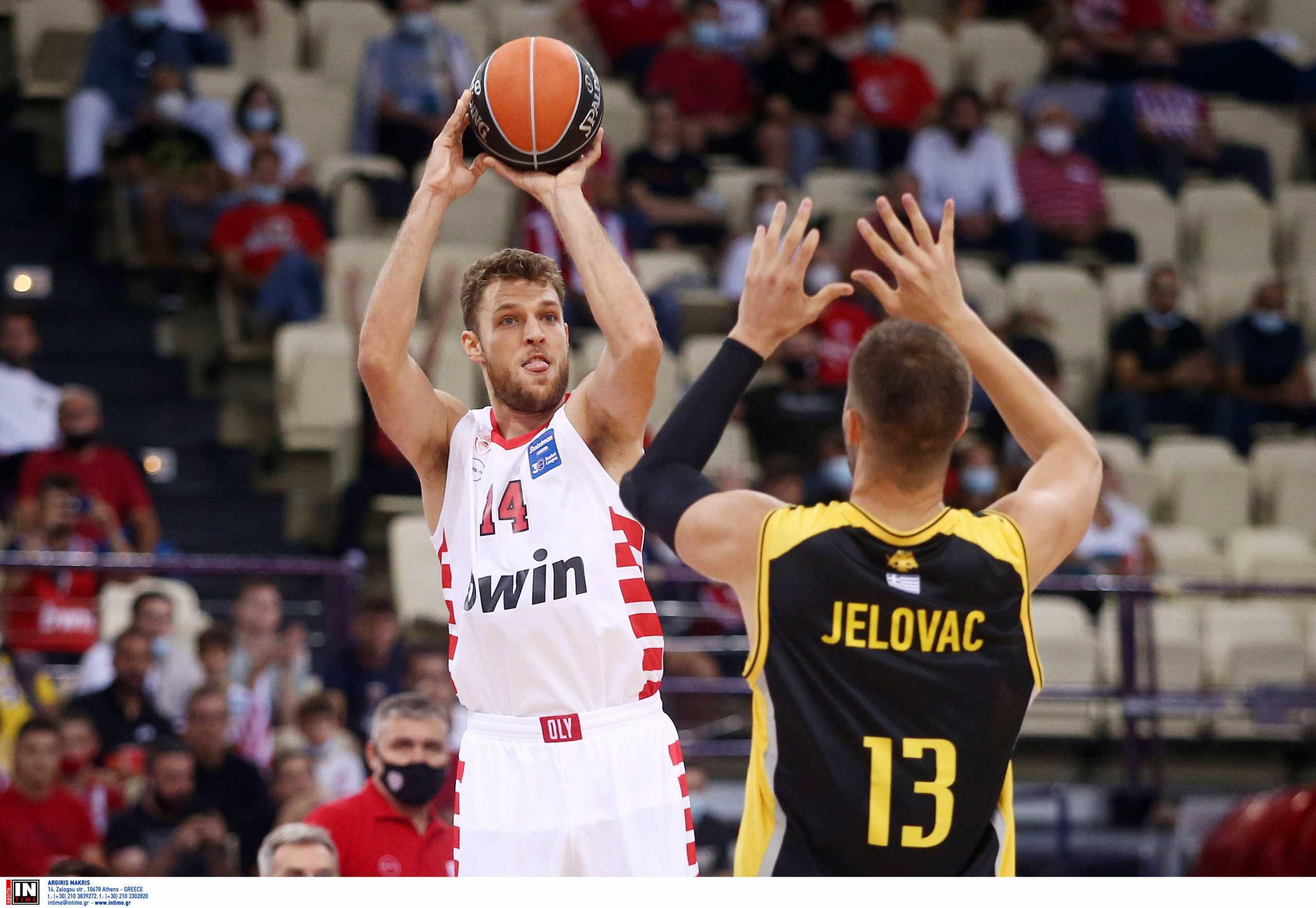 Basket League, Ολυμπιακός – ΑΕΚ 103-78: Σαρωτική πρεμιέρα με διαστημικό Βεζένκοφ