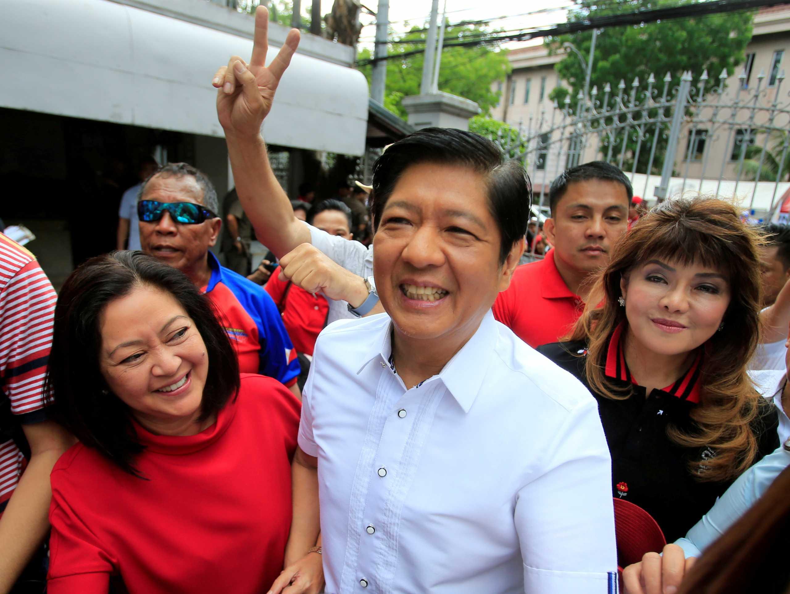 Φιλιππίνες: Ο γιος του δικτάτορα Φερντινάντο Μάρκος θα είναι υποψήφιος στις εκλογές