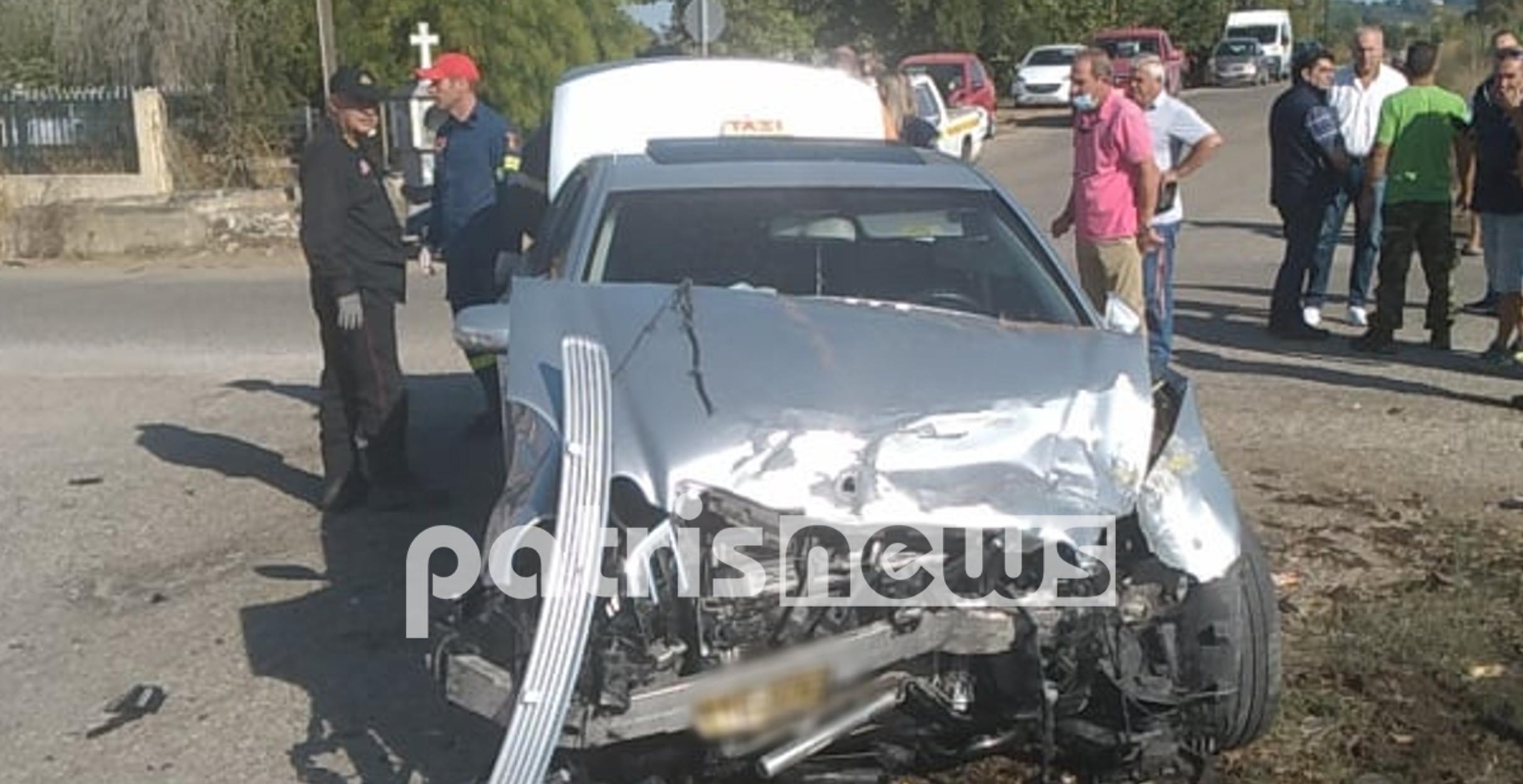 Πύργος: Τροχαίο δυστύχημα στο Κατσικάρι! 1 νεκρός και 4 τραυματίες