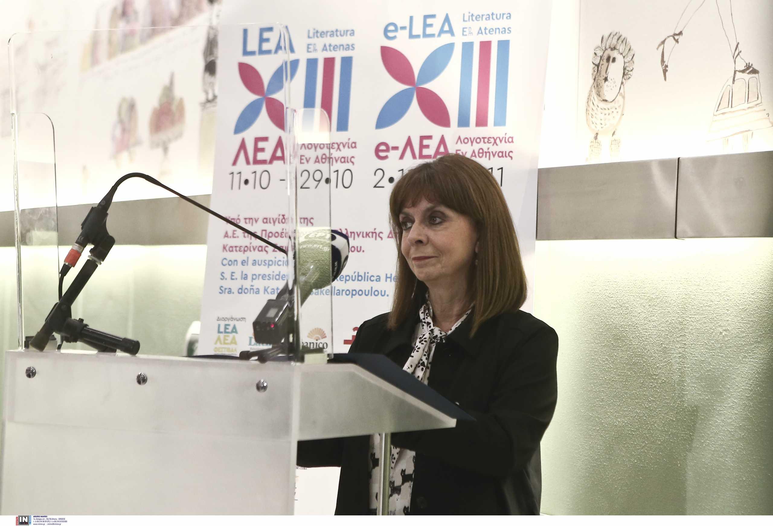 Κατερίνα Σακελλαροπούλου: Κήρυξε την έναρξη του 13ου Φεστιβάλ ΛΕΑ στο Μουσείο Μπενάκη