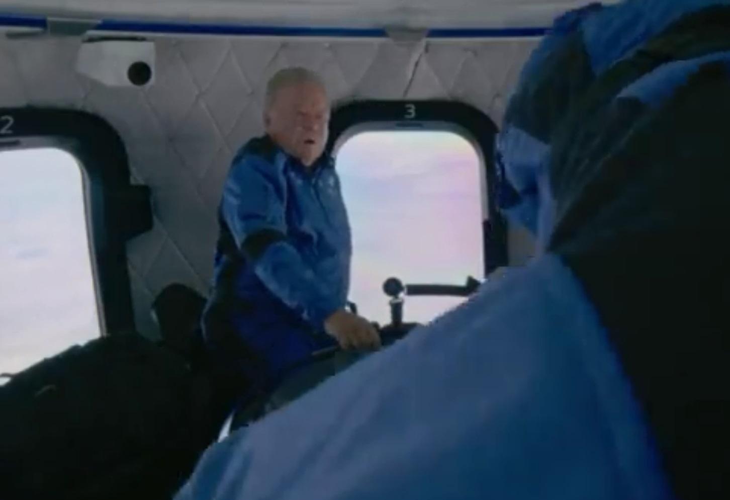 Όταν ο «Κάπτεν Κερκ» Σάτνερ γνώρισε το διάστημα - «Ω Χριστέ μου, η έλλειψη βαρύτητας...»