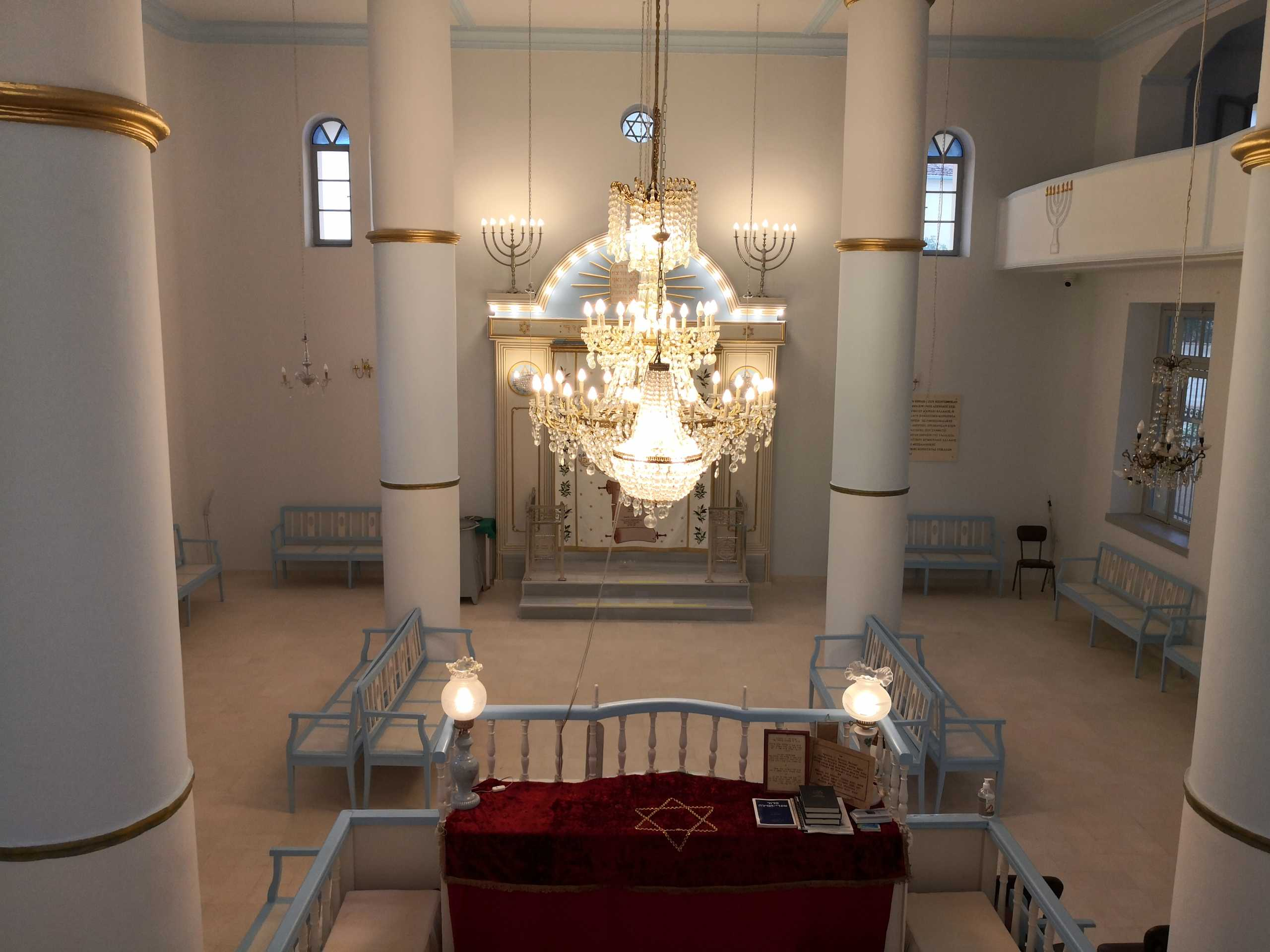 Τρίκαλα: Αγνώριστη η ανακαινισμένη Εβραϊκή Συναγωγή – Έτοιμη για να υποδεχτεί ξανά επισκέπτες