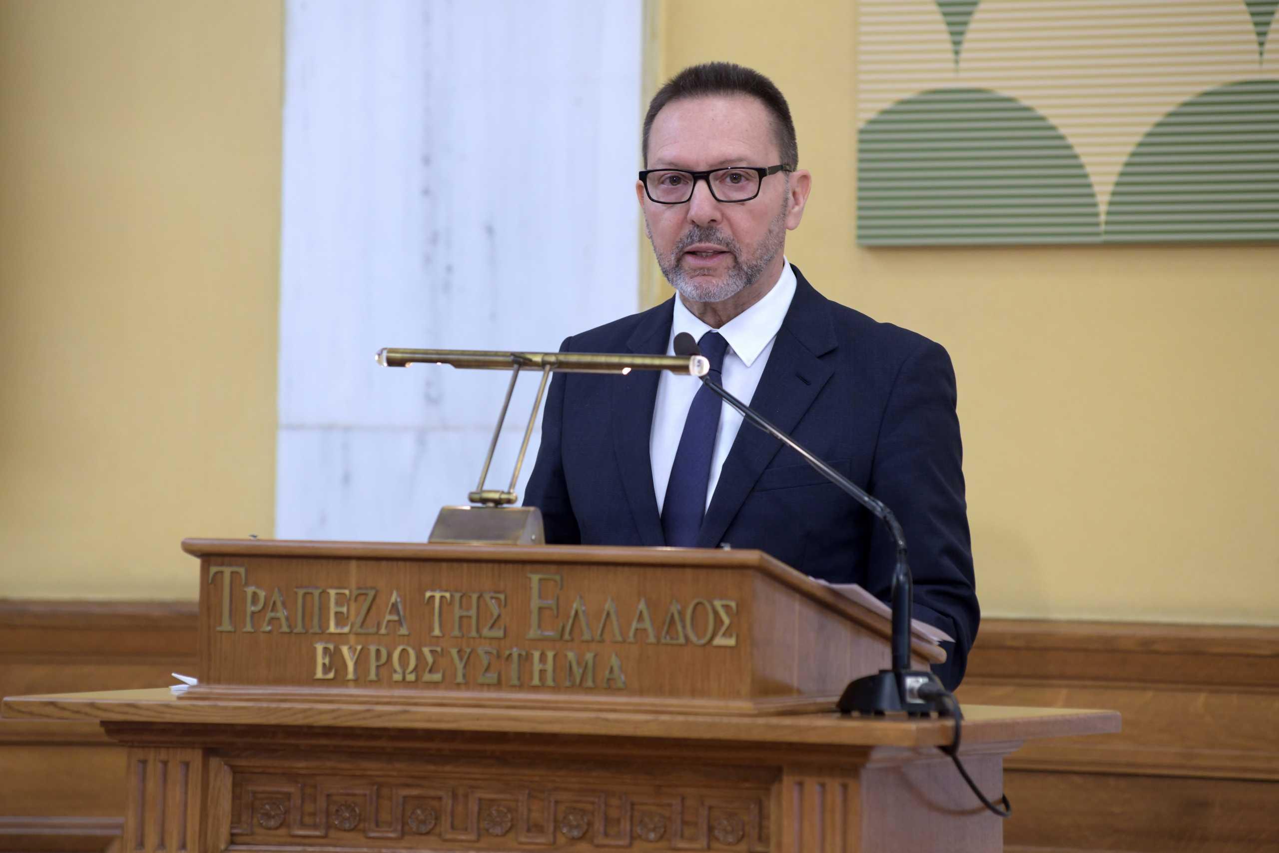 Γιάννης Στουρνάρας: Περισσότερο αισιόδοξος για την πορεία της οικονομίας από τις αρχικές προβλέψεις