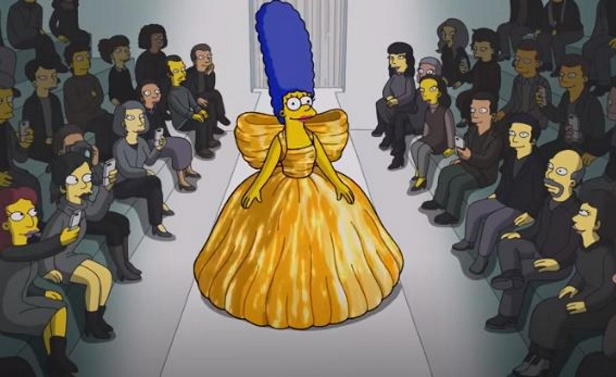 Οι «The Simpsons» έκαναν πασαρέλα για τον οίκο μόδας Balenciaga στο Παρίσι