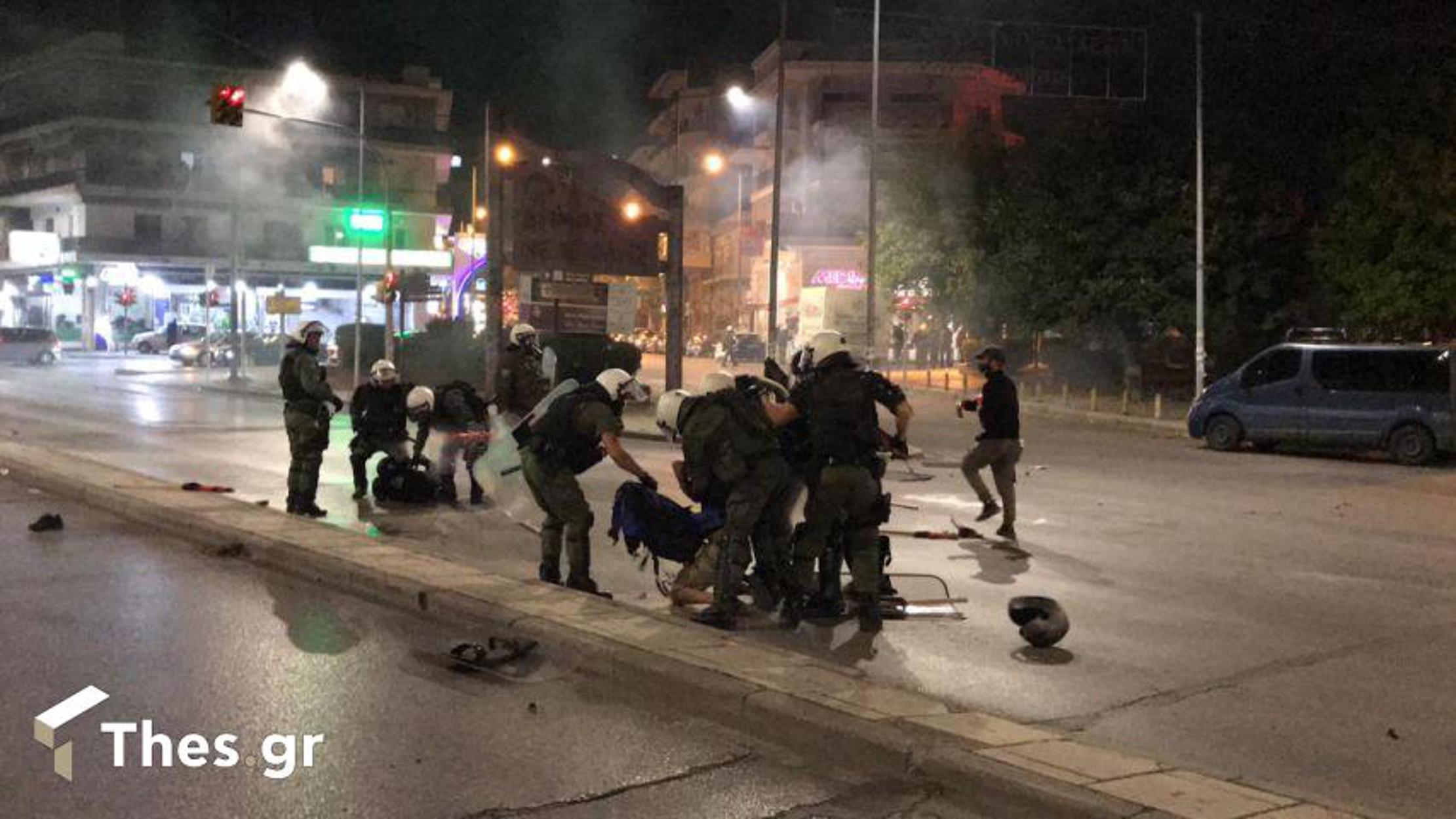 Θεσσαλονίκη: Επεισόδια και χημικά στην αντιφασιστική πορεία