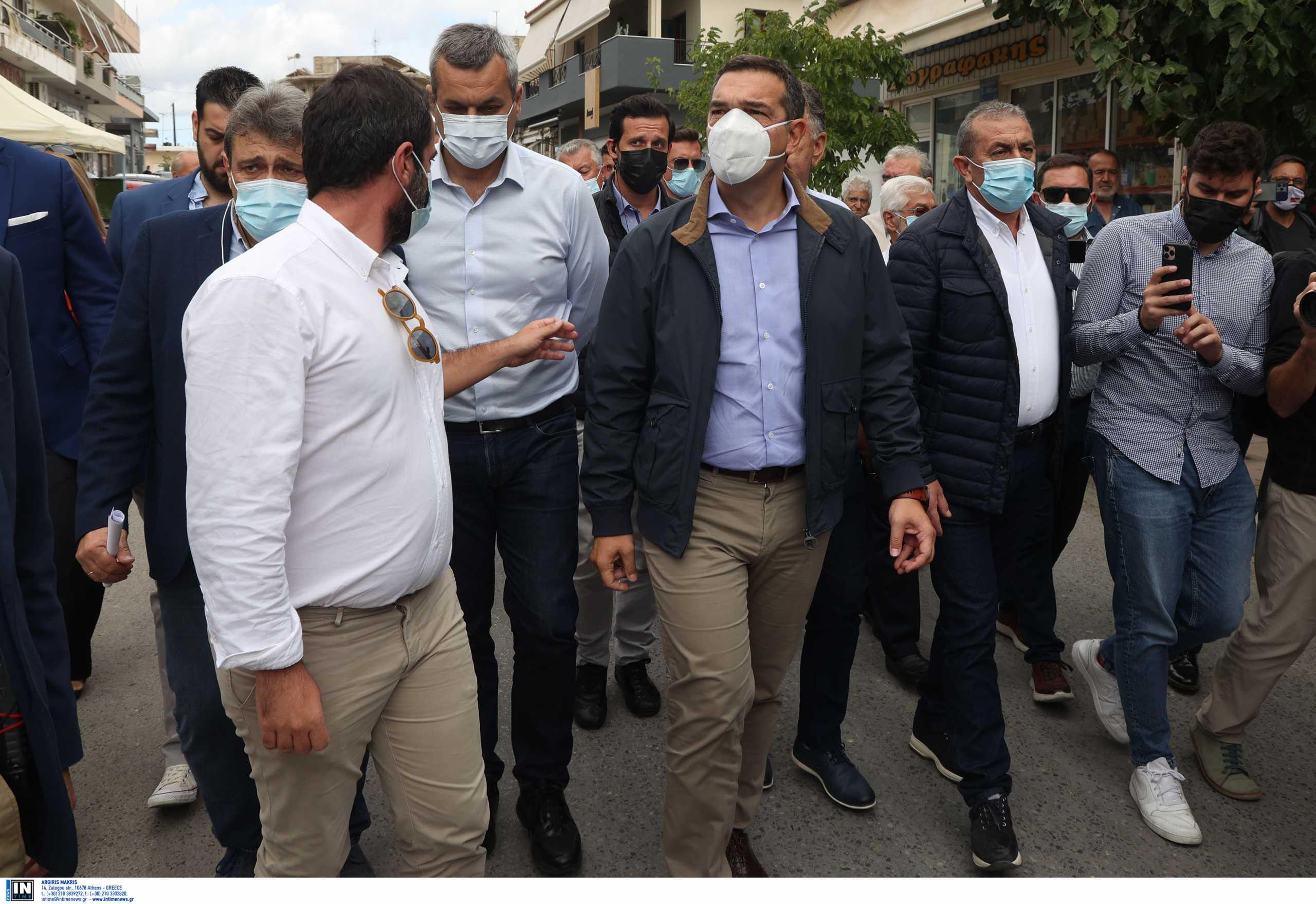 Σεισμός στην Κρήτη: Η μαντινάδα στον Αλέξη Τσίπρα στο Αρκαλοχώρι