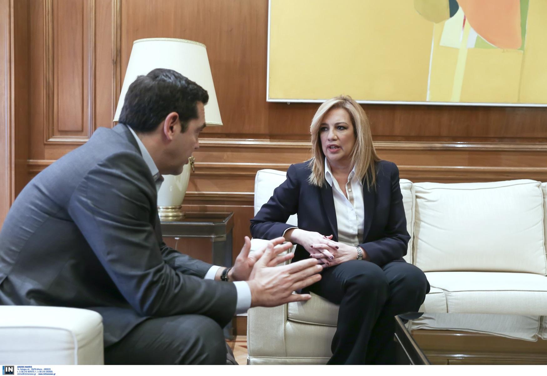 Φώφη Γεννηματά: Της τηλεφώνησε ο Αλέξης Τσίπρας – Ανακοίνωση εξέδωσε ο ΣΥΡΙΖΑ