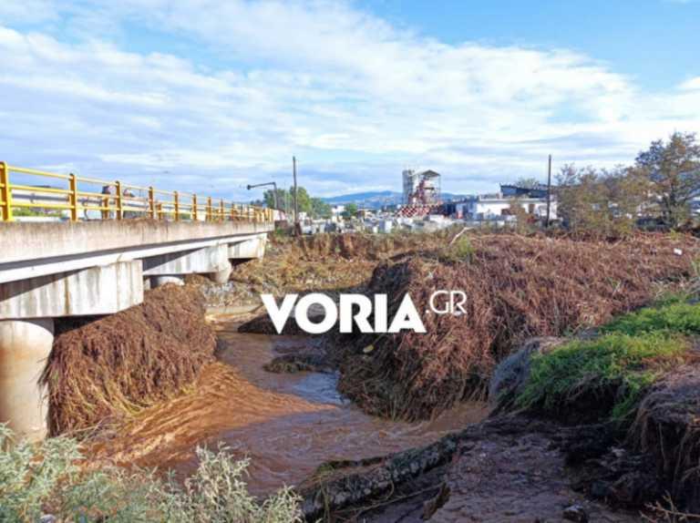 Καιρός - Θεσσαλονίκη: Υπερχείλισε ο ποταμός Ανθεμούντας - Ποιοι δρόμοι είναι κλειστοί