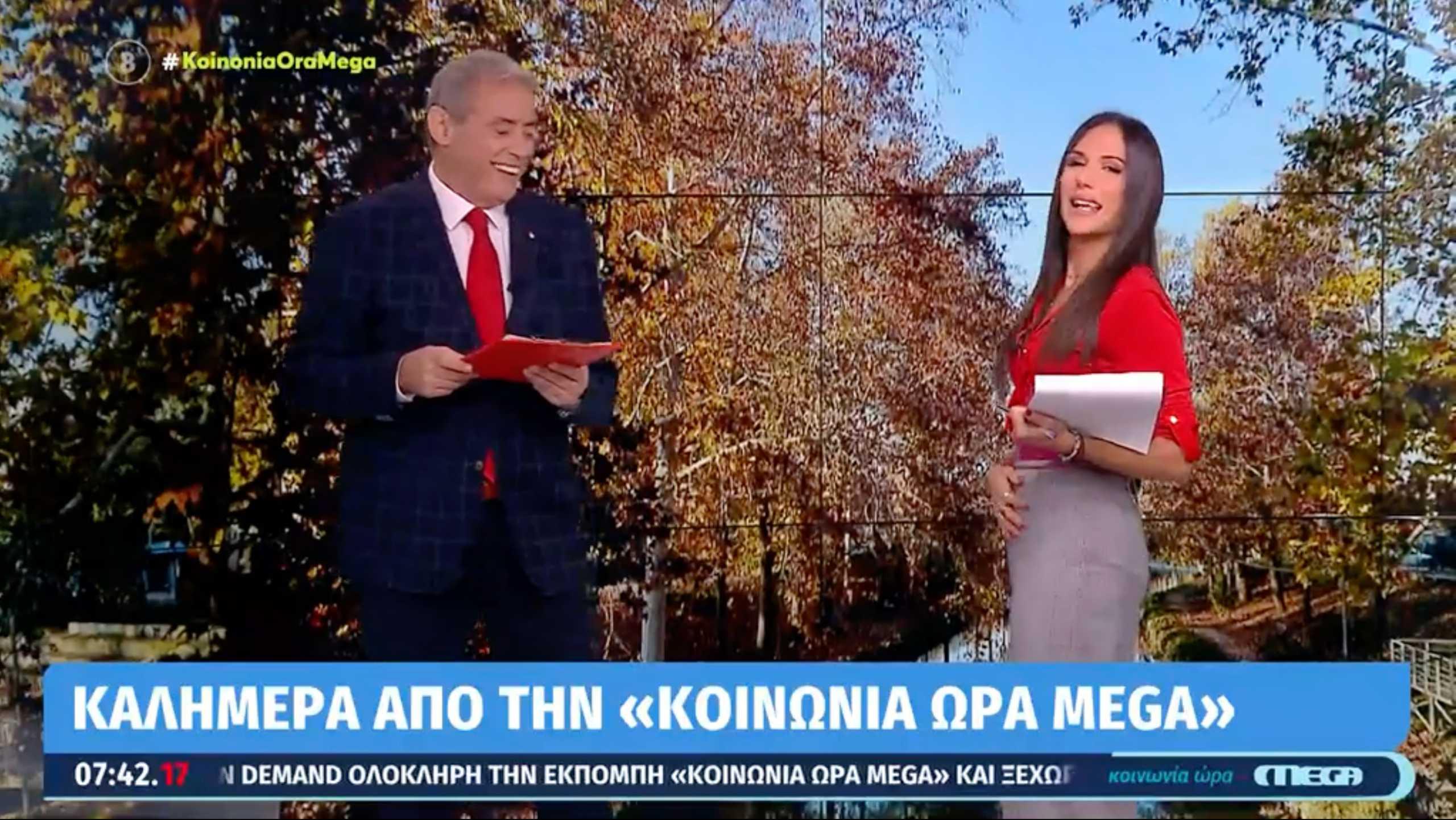Η Ανθή Βούλγαρη απάντησε για τη «φουσκωμένη» κοιλιά της
