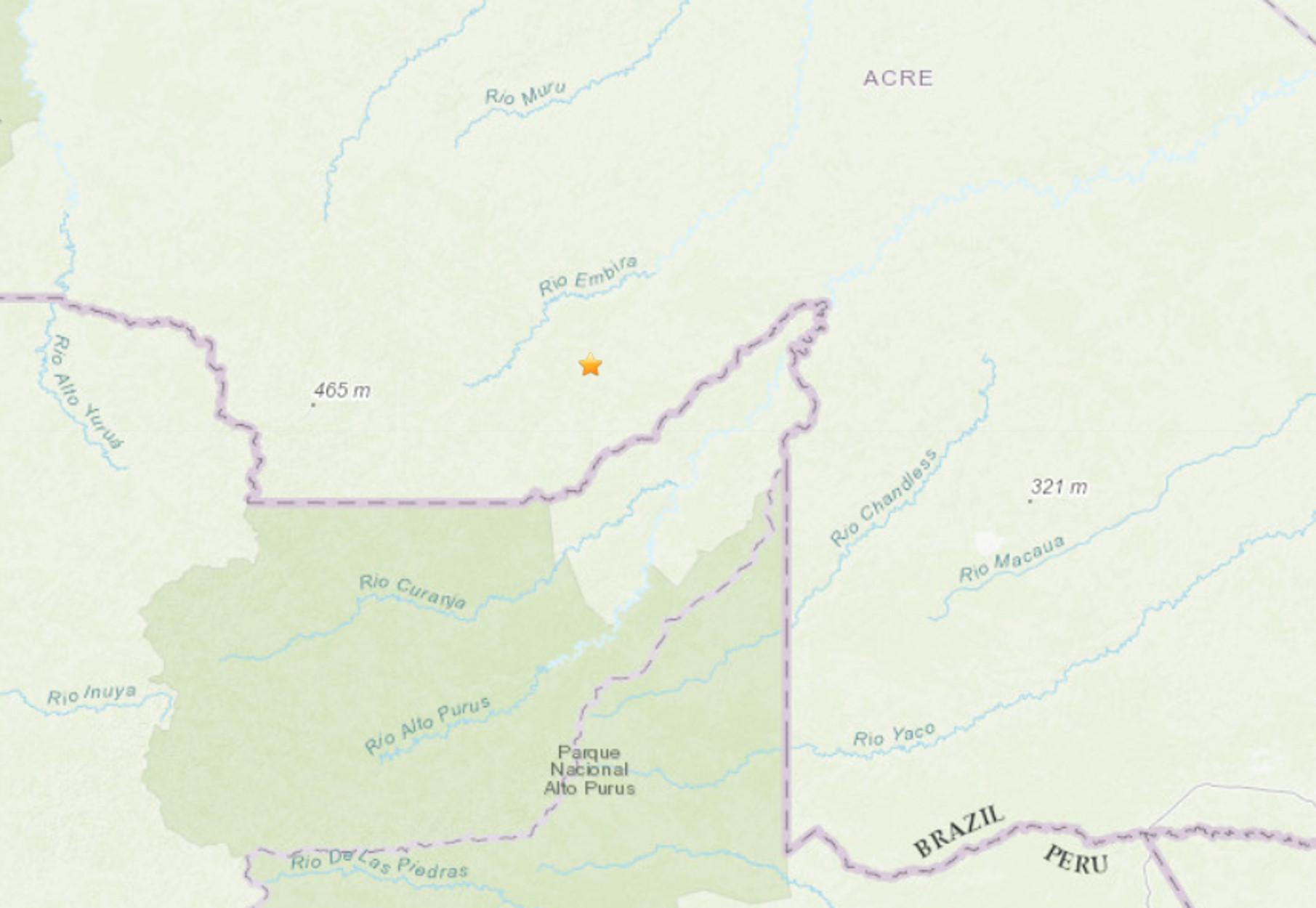Βραζιλία: Σεισμός 5,9 Ρίχτερ στα σύνορα με το Περού