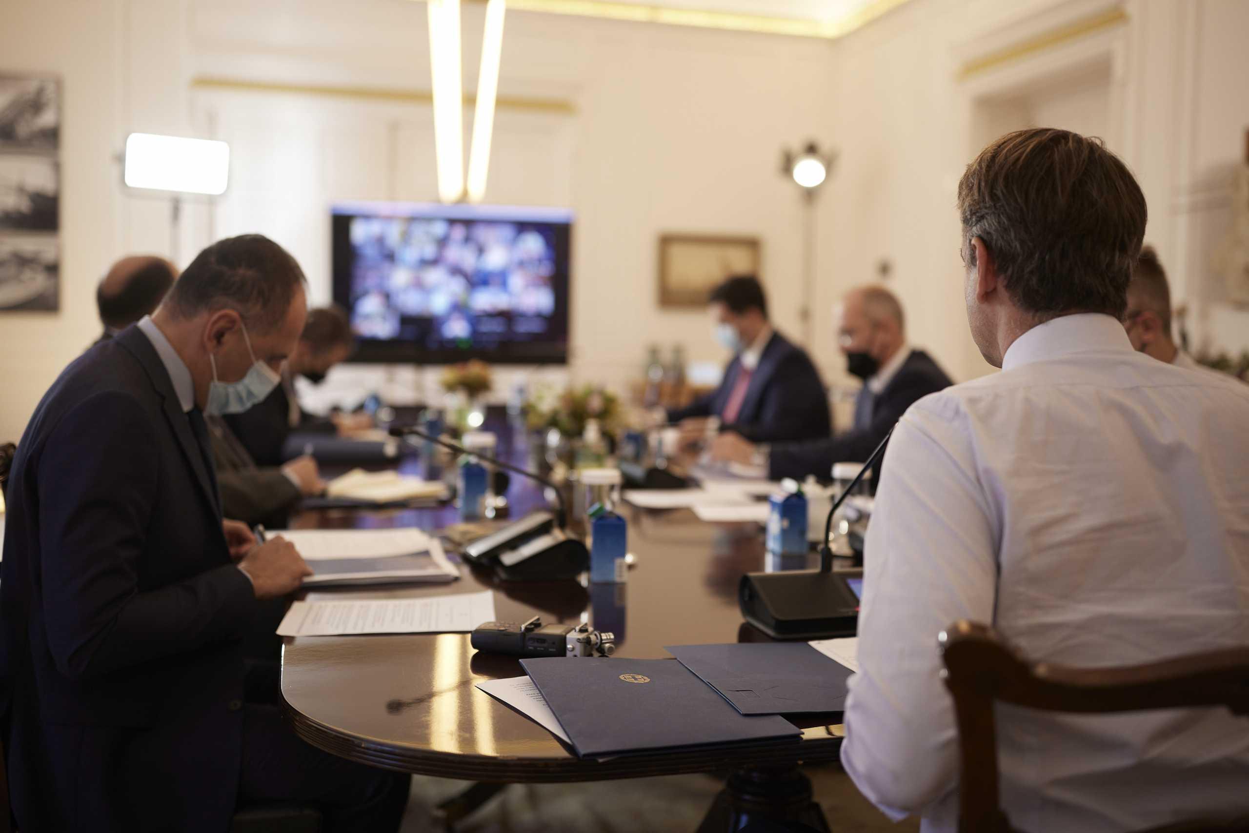 Κυριάκος Μητσοτάκης στο υπουργικό συμβούλιο: Θετικό το οικονομικό αποτύπωμα της Συμφωνίας