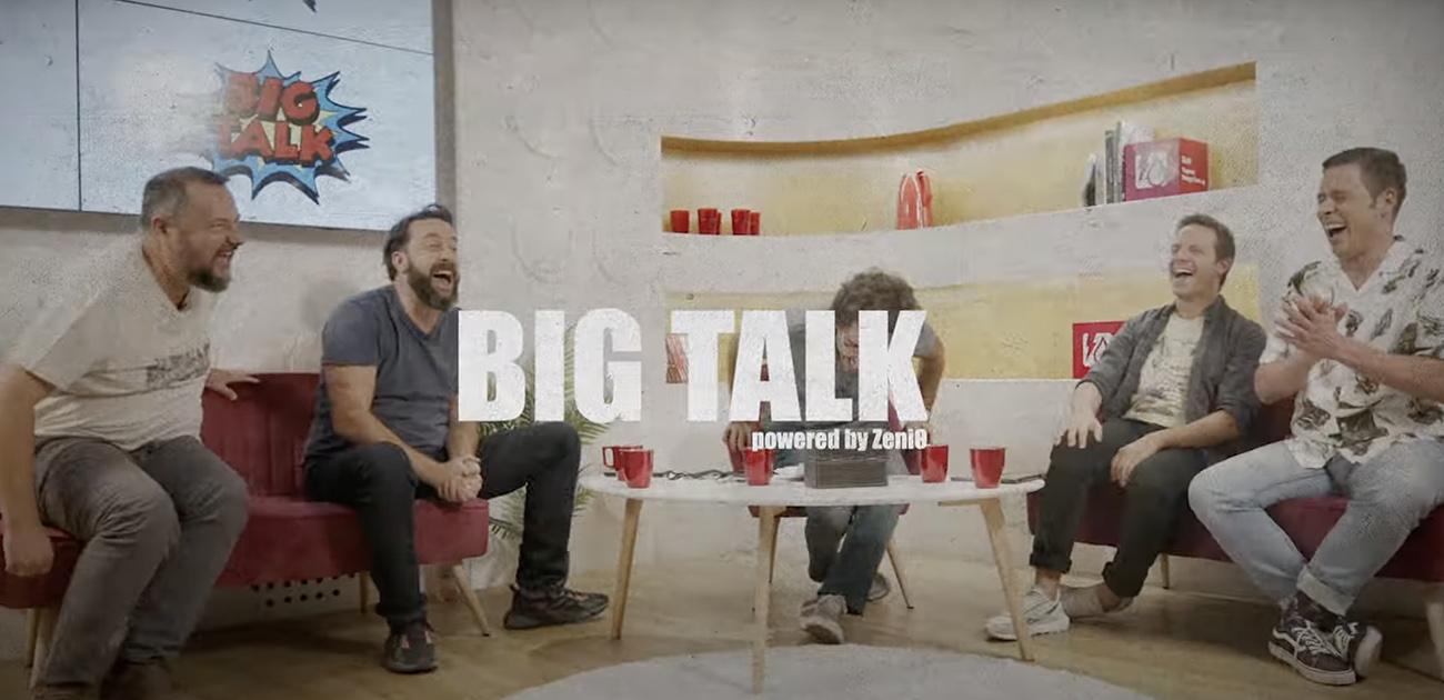 Το BIG TALK επιστρέφει με την ενέργεια της ZeniΘ