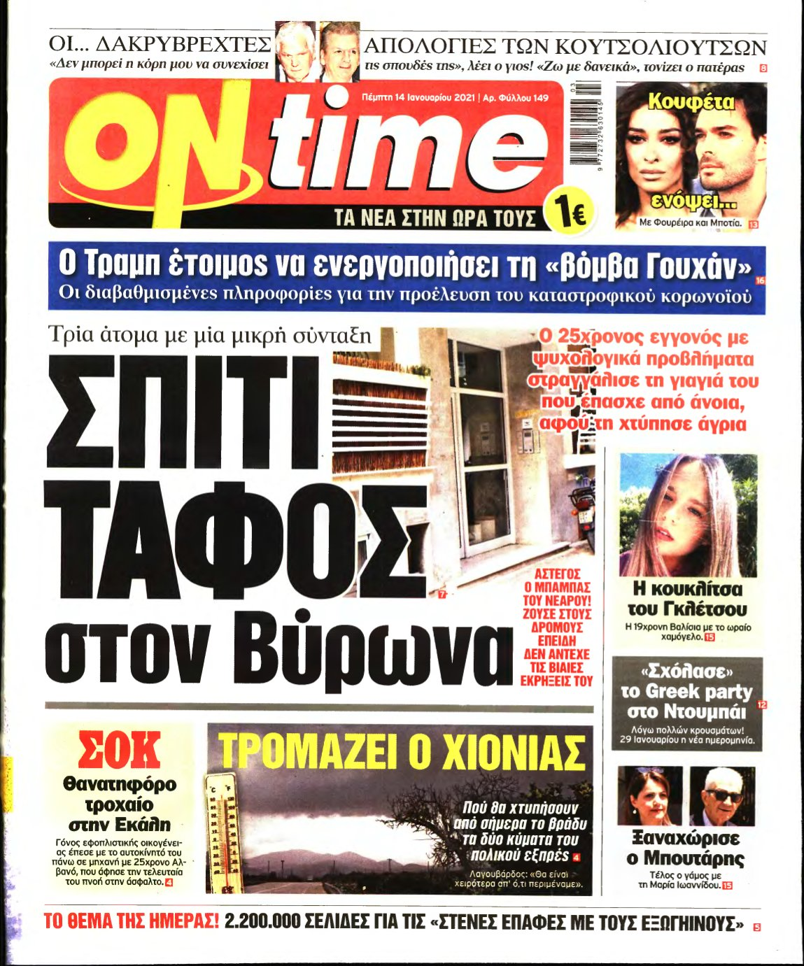 ON TIME – 14/01/2021